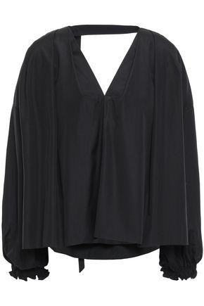 3.1 PHILLIP LIM Cutout cotton-poplin blouse