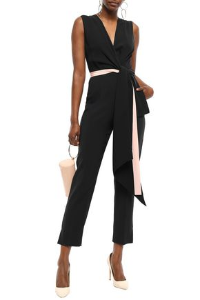 ROKSANDA Draped crepe jumpsuit
