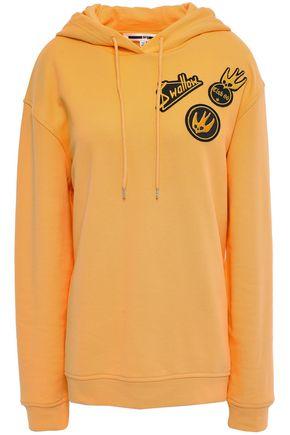 McQ Alexander McQueen Appliquéd cotton hoodie