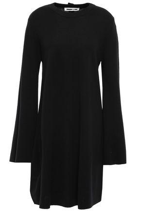 McQ Alexander McQueen Button-embellished wool dress