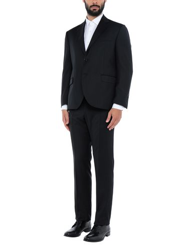 Фото - Мужской костюм CONTINI® черного цвета