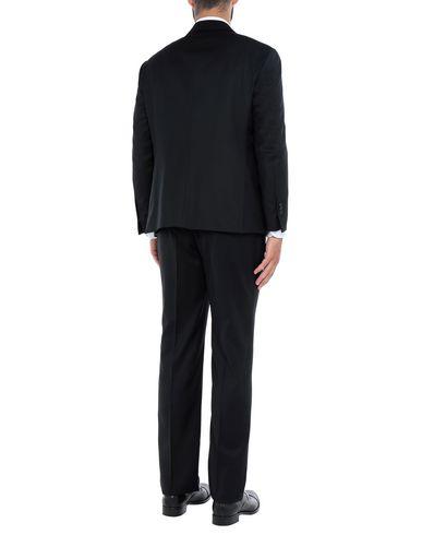 Фото 2 - Мужской костюм CONTINI® черного цвета