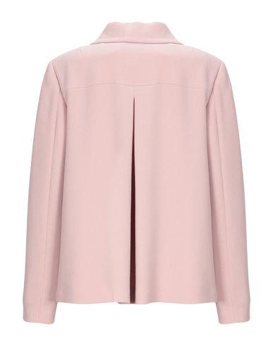 Фото 2 - Женский пиджак  пастельно-розового цвета