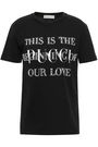 EMILIO PUCCI Embellished printed cotton-jersey T-shirt
