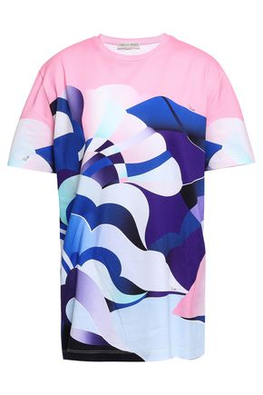 EMILIO PUCCI Printed cotton-jersey T-shirt