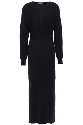 EMILIO PUCCI Ribbed wool midi dress