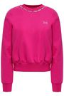 EMILIO PUCCI Appliquéd French cotton-terry sweatshirt