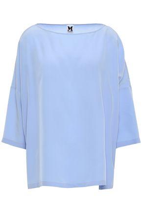 M MISSONI Oversized silk crepe de chine blouse