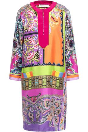 ETRO Silk-twill dress