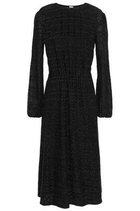 M MISSONI Cotton-blend jacquard midi dress
