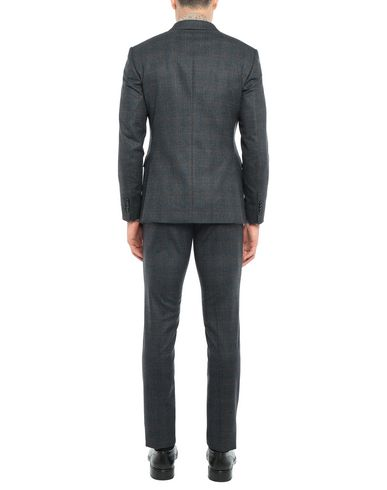Фото 2 - Мужской костюм TAGLIATORE темно-синего цвета