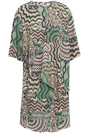 M MISSONI Printed crepe mini dress