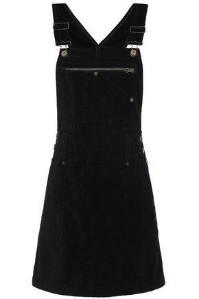 McQ Alexander McQueen Button-detailed chenille mini dress
