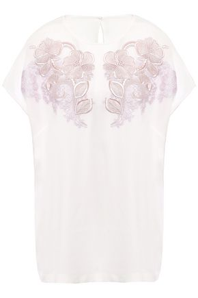 DOLCE & GABBANA Embroidered silk blouse