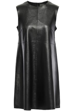 MUUBAA Leather mini dress