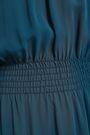 TORY BURCH Gathered silk-georgette midi dress