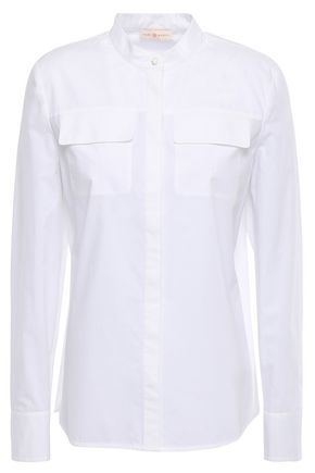 TORY BURCH Cotton-poplin shirt