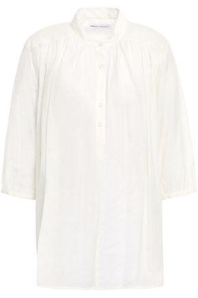 REBECCA MINKOFF Modal-blend jacquard shirt