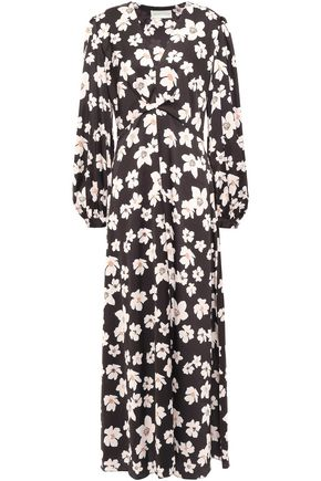 SACHIN & BABI Floral-print stretch-crepe maxi dress