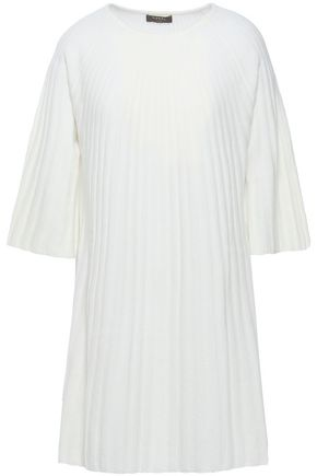 N.PEAL Ribbed cashmere tunic