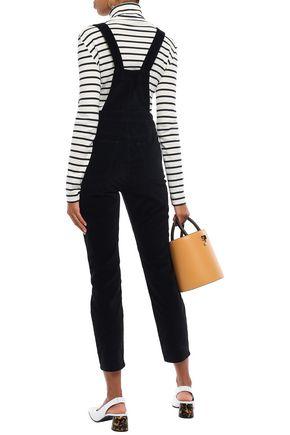 3x1 Cotton-blend velvet overalls