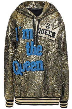 DOLCE & GABBANA Embellished brocade hoodie