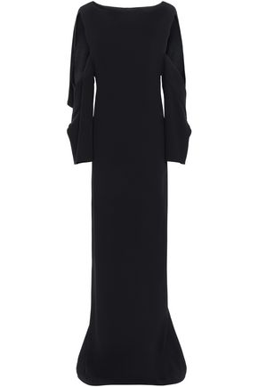 CHALAYAN Cutout cady gown