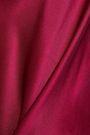 CINQ À SEPT Draped silk-satin camisole