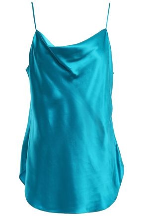 CINQ À SEPT Silk-charmeuse camisole