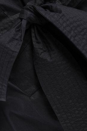 REBECCA MINKOFF Cotton-poplin mini dress