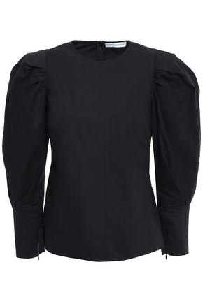 REBECCA MINKOFF Cotton-poplin blouse