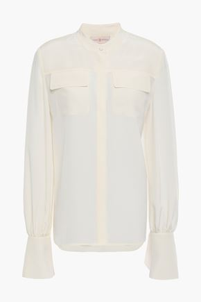 TORY BURCH Silk crepe de chine shirt