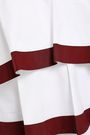 TORY BURCH Tiered cotton-blend poplin top