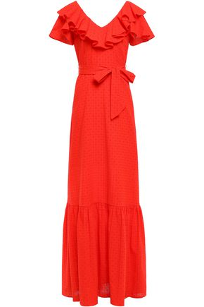 PERSEVERANCE Broderie anglaise cotton maxi dress