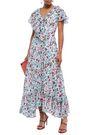 ANTIK BATIK Lally ruffled floral-print cotton-gauze maxi dress