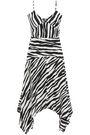 W118 by WALTER BAKER Cutout crepe de chine dress