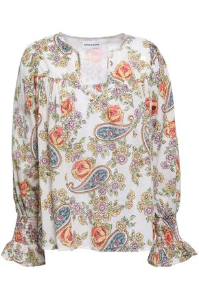 ANTIK BATIK Vika printed cotton blouse