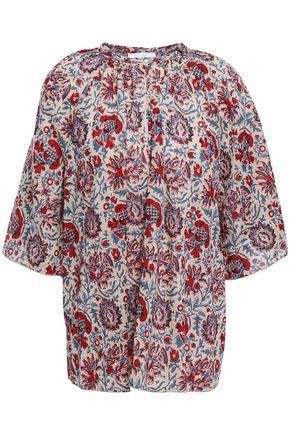ANTIK BATIK Betsie oversized printed cotton blouse