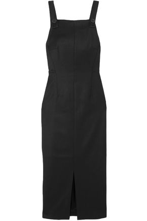 CEFINN Twill midi dress