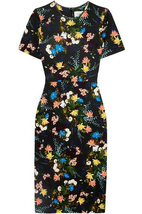 ERDEM Essie floral-print stretch-jersey dress