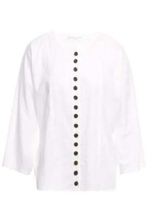 APIECE APART Cotton-gauze shirt