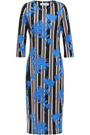 DIANE VON FURSTENBERG Saihana floral-print silk-jersey dress