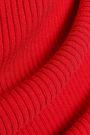 BAILEY 44 Cutout ribbed-knit mini dress