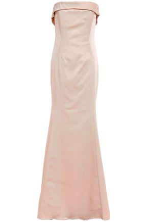 ZAC ZAC POSEN Strapless faille gown