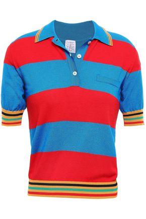 STELLA JEAN Stretch-knit polo shirt
