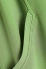 TIBI Fluted stretch-cady midi shirt dress