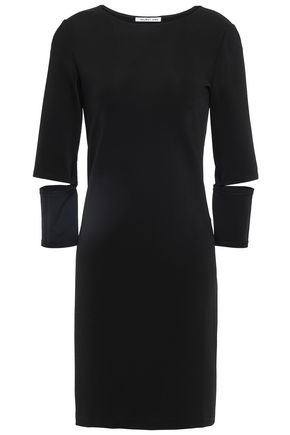 HELMUT LANG Cutout jersey mini dress