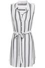 TART COLLECTIONS Belted gauze mini dress