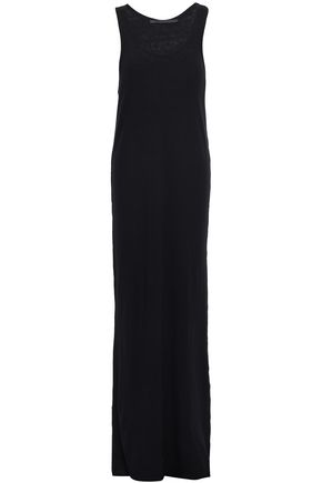 HAIDER ACKERMANN Ribbed cotton and cashmere-blend maxi dress