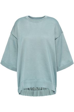 TIBI Stretch-knit top